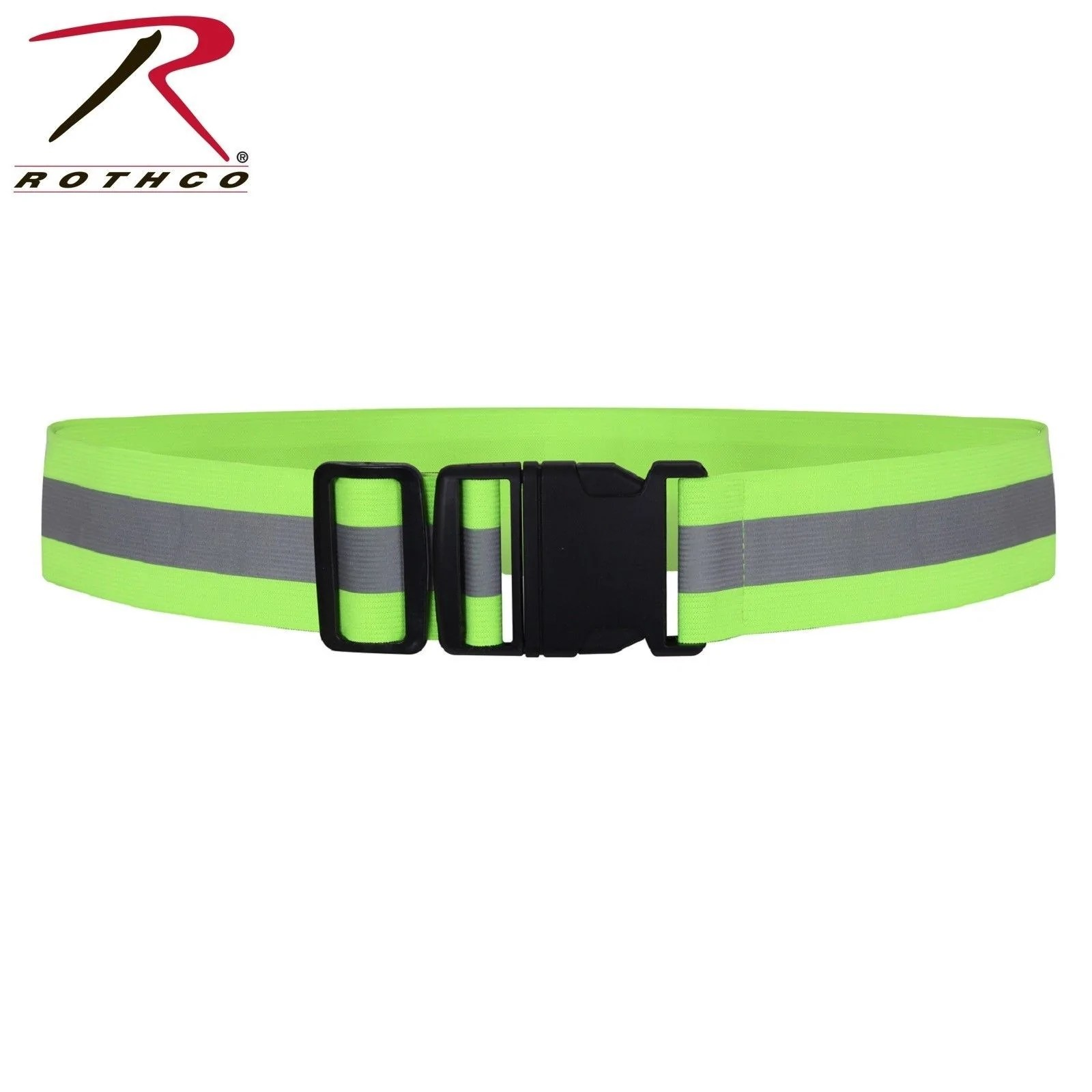 Safety Belt Rothco Reflective Elastic Pt Belt Adjustable Neon Reflective Safety Belt
