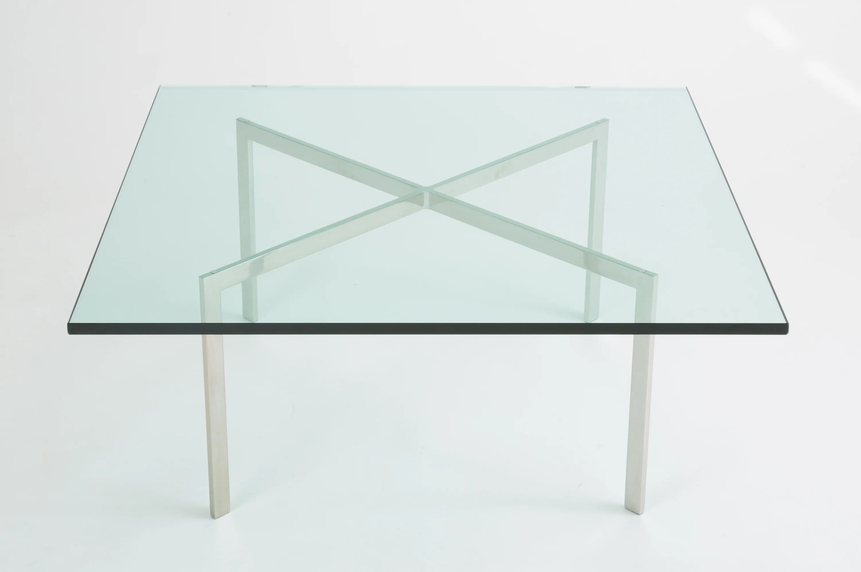 Knoll Table Barcelona Coffee Table By Ludwig Mies Van Der Rohe For Knoll