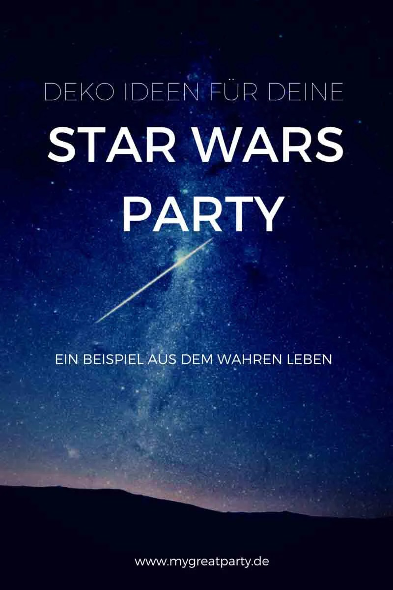 Deko Ideen Party Deko Ideen Für Deine Star Wars Party My Great Party