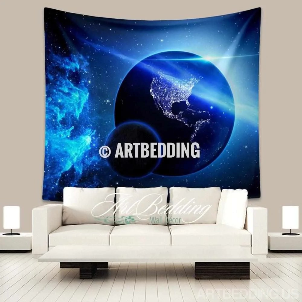 Planets Wall Art Galaxy Wall Tapestry Collection