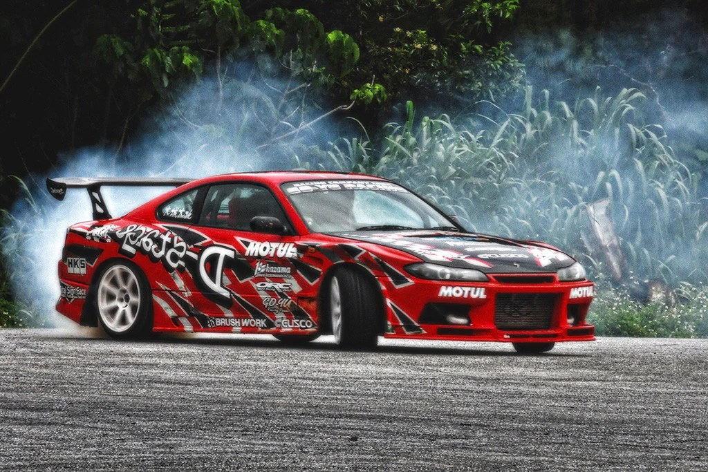 I Love Anime Wallpaper Nissan Silvia S15 Drifting Tuning Red Car Poster My Hot