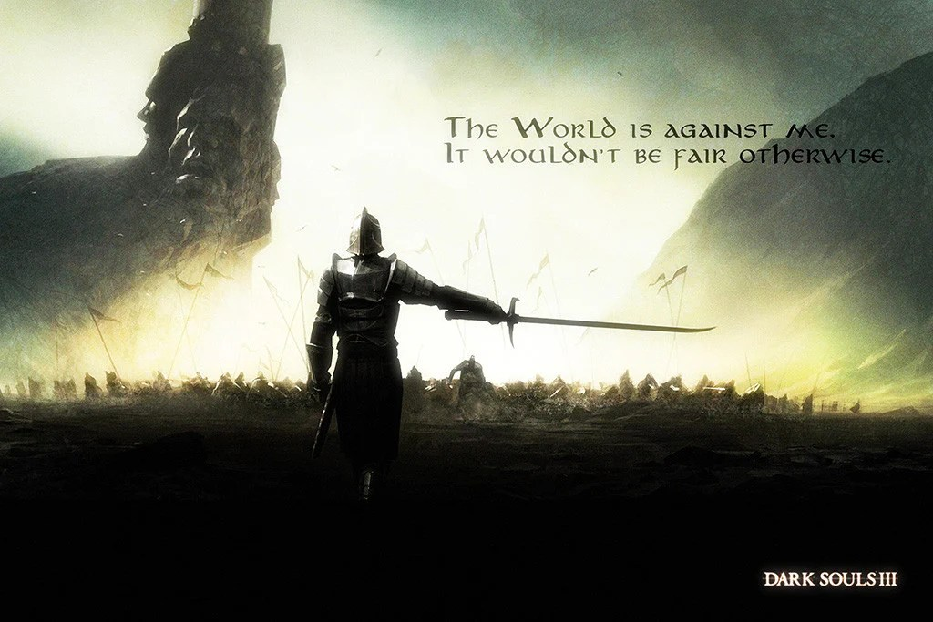 Warrior Quote Wallpapers Dark Souls 3 Quotes Poster My Hot Posters