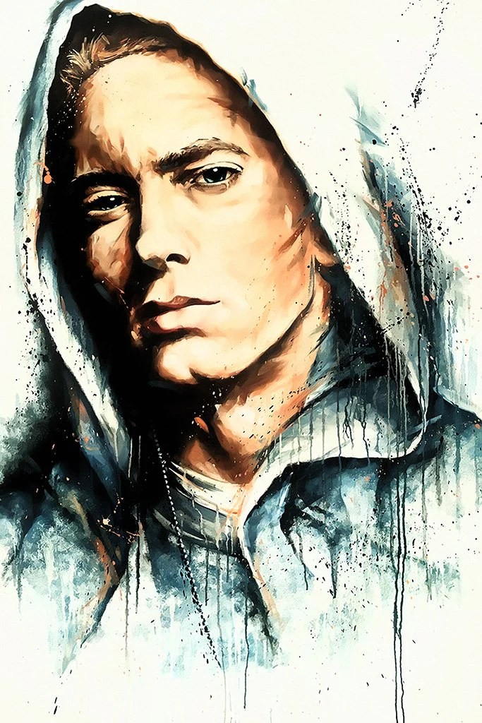 Motivational Funny Quotes Rap Wallpaper Eminem Fan Art Poster My Hot Posters Poster Store