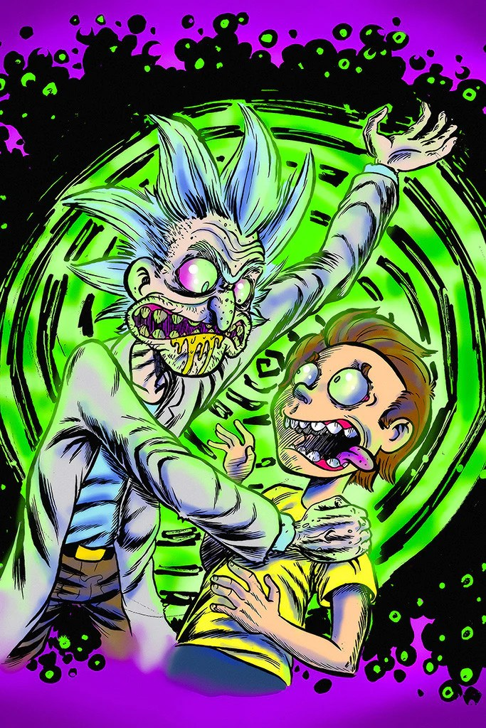 Motivational Funny Quotes Rap Wallpaper Rick And Morty Acid Poster My Hot Posters Poster Store