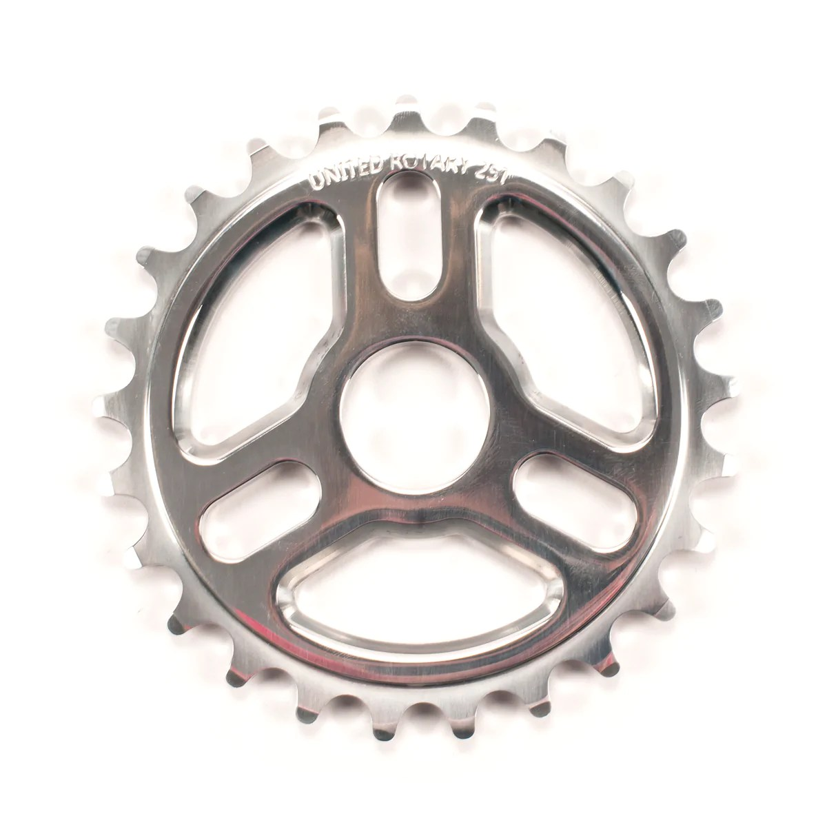 Bmx Parts Rotary Sprocket Black Polished