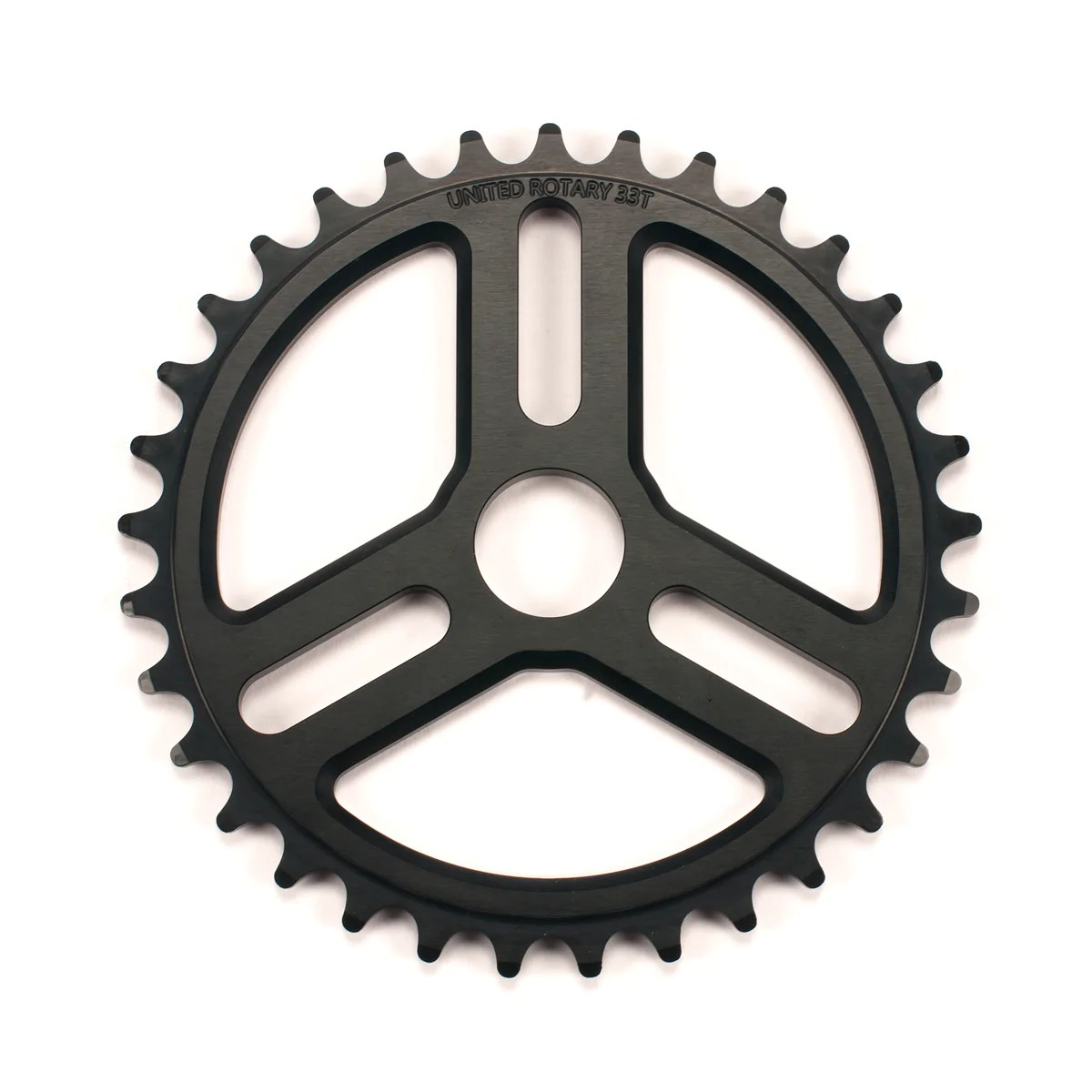 Bmx Parts Rotary Sprocket Black Bmx Parts United Bmx United Bike Co