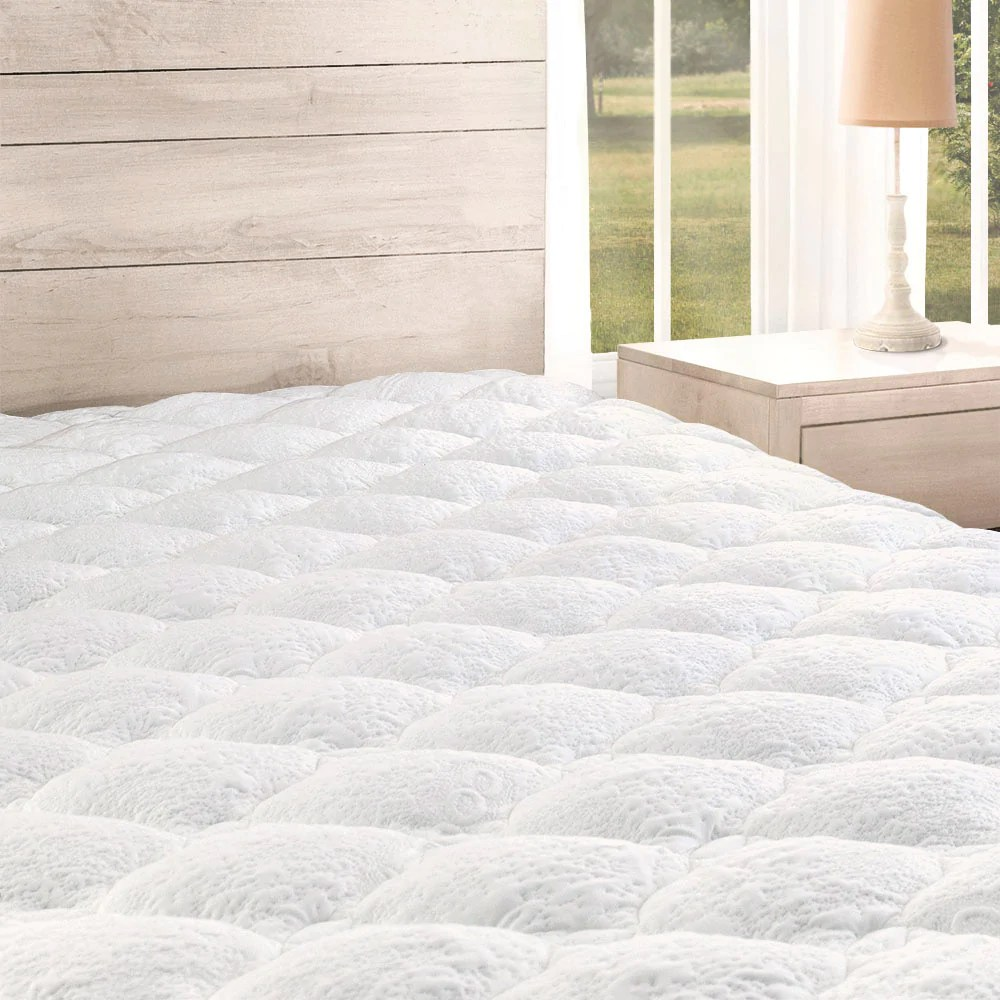 Bamboo Mattress Topper Review Cooling Mattress Pad With Fitted Skirt