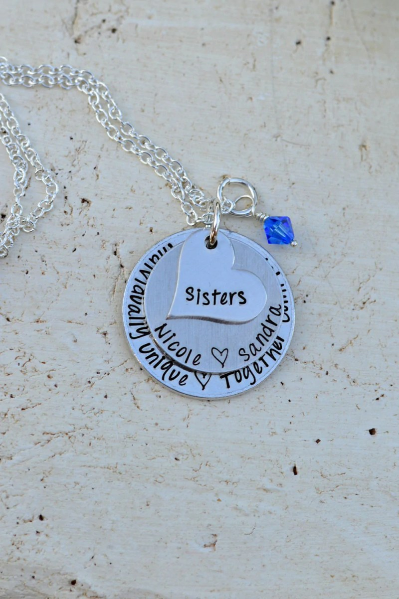 O Encouragement Sister Big Giftsister Jewelry Birthday Gifts