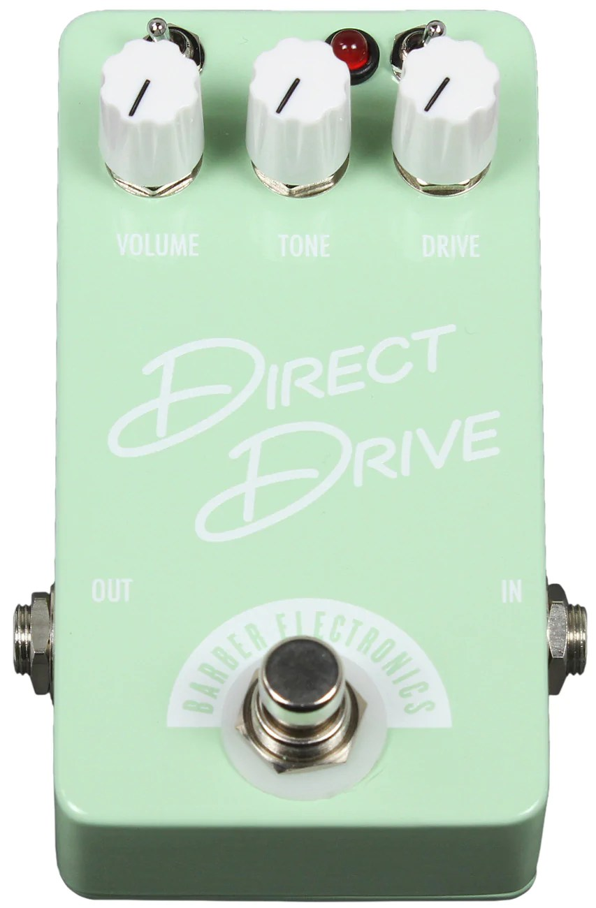 Barber Direct Drive Compact Vs Gain Changer Https Humbuckermusic Daily Https Www