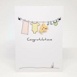 Sunshiny Congratulations New Baby Gift Card Congratulations Baby Gift Card Pea Honey Bee Congratulations New Baby Gif Congratulations New Baby Gift Baskets