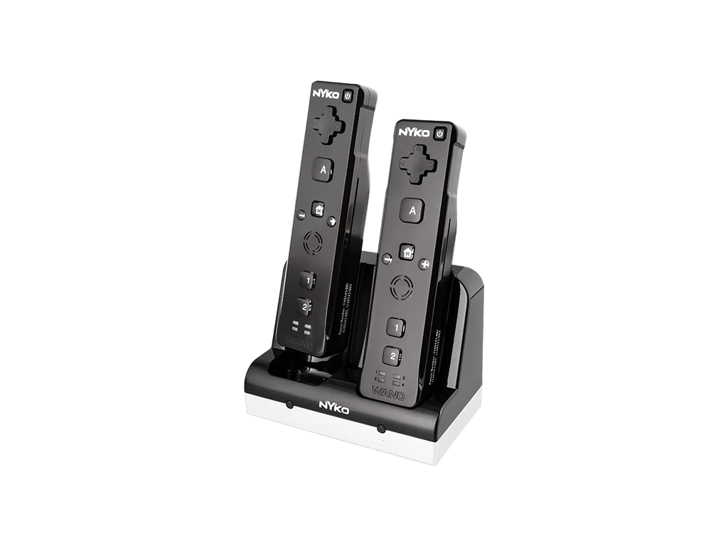 Stylish Charging Station Charge Station For Nintendo Wii Nyko Technologies