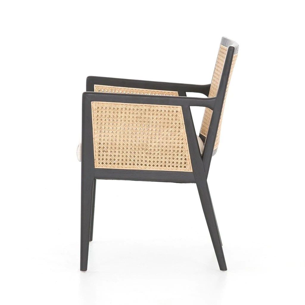Antonia Cane Dining Chair With Arms