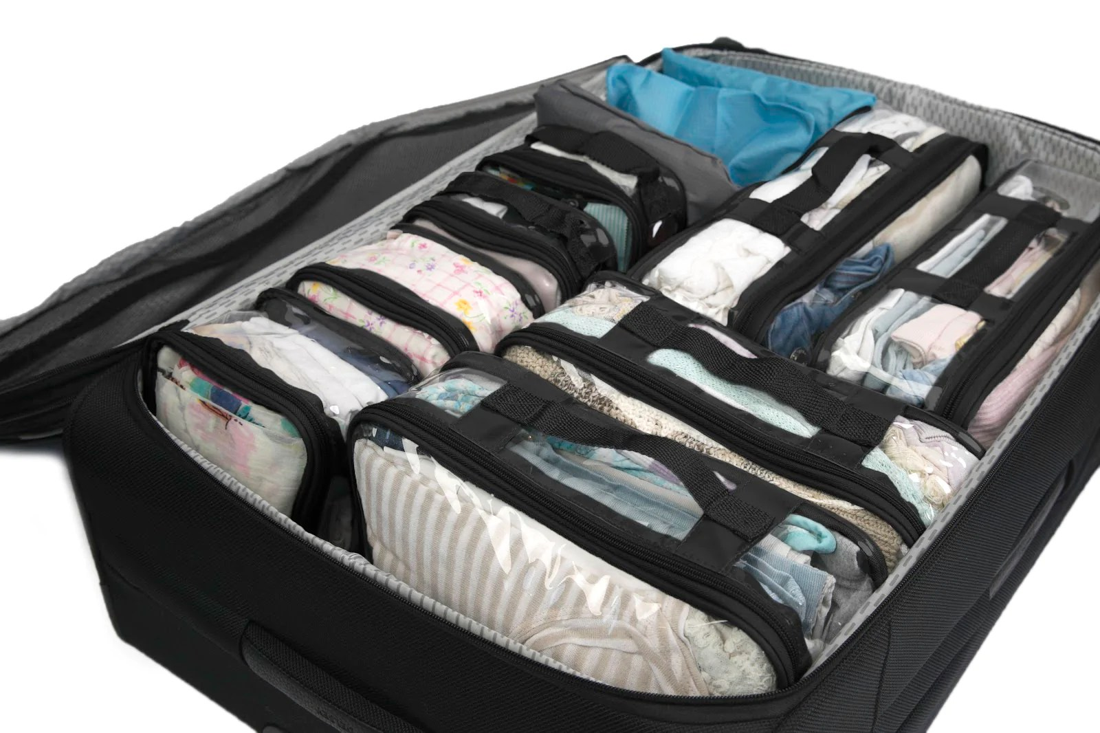 Packing Cells How To Use Packing Cells For Suitcases Ezpacking Inc