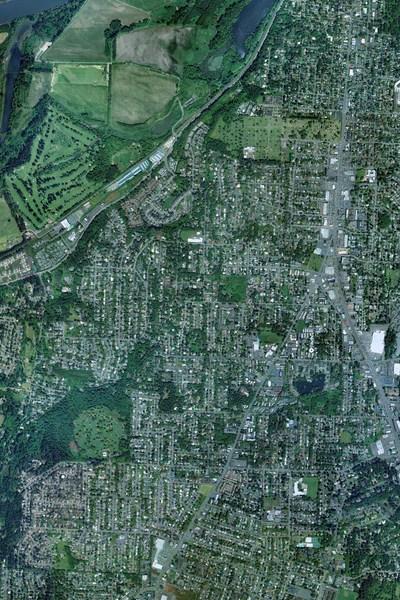 washington dc map and washington dc satellite image