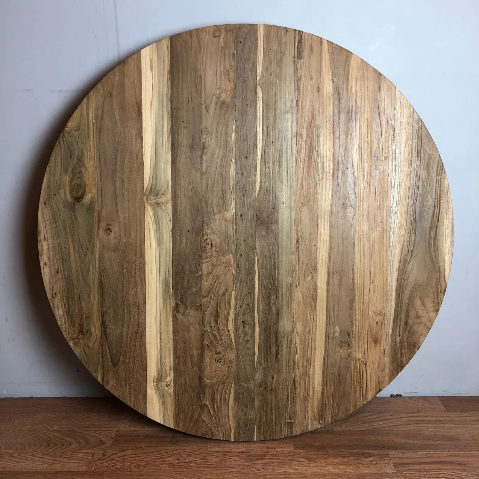 Round Table Tops Reclaimed Teak Round Table Top 36