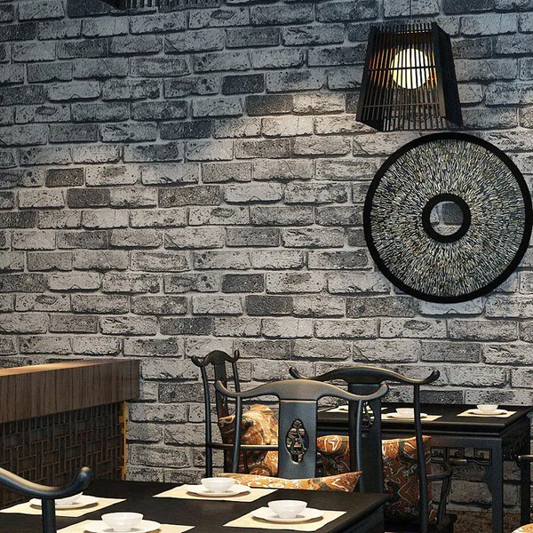 3d Wallpaper For Bedroom Stone Brick Wall Wallpaper Wp113 Cheerhuzz