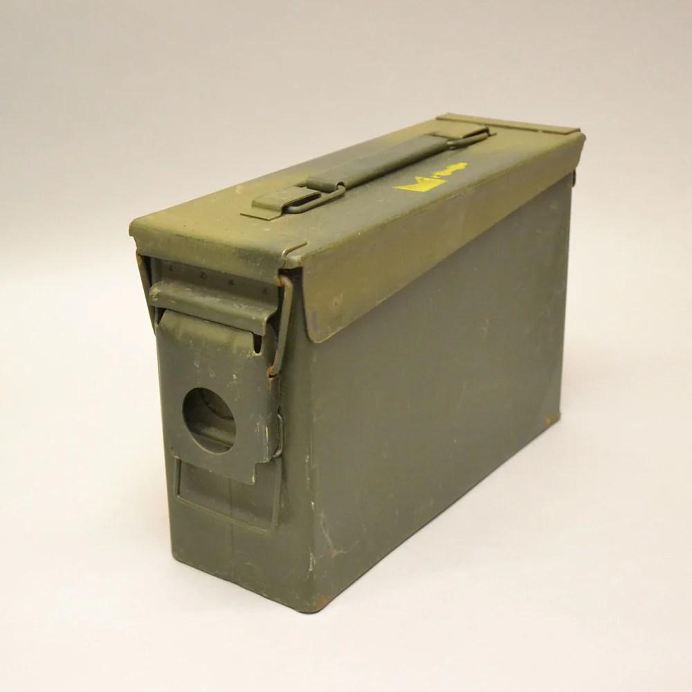 30 Cal Ammo Box Strong Steel Military Ammo Box Denbigh