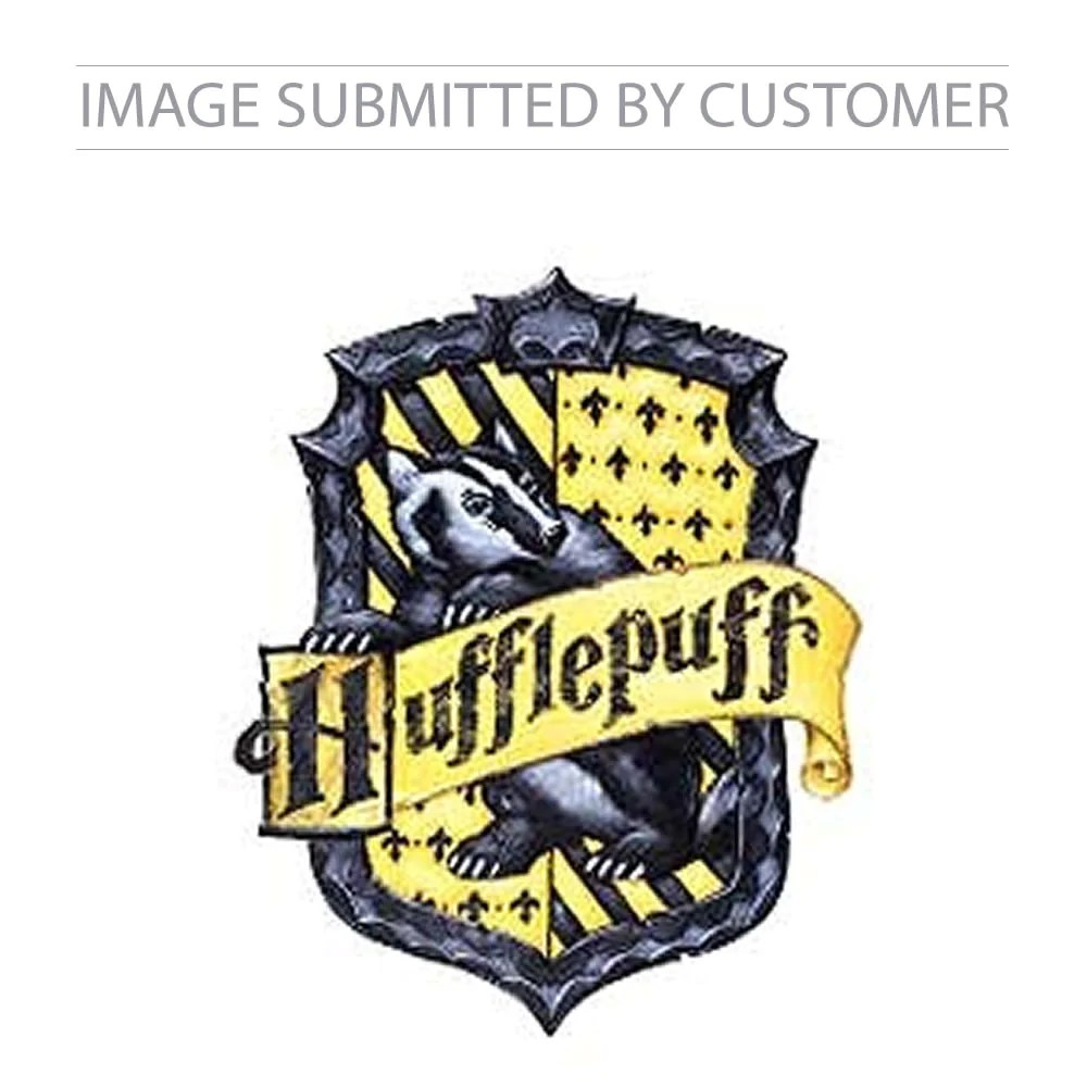 Valentine Wallpaper Iphone X Custom Hufflepuff Crest Pinata Party Pinatas Pinatas Com