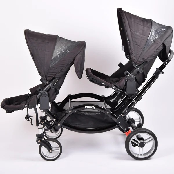 Mamas Papas Footmuff Obaby Abc Design Zoom Tandem Double Black Grade 3