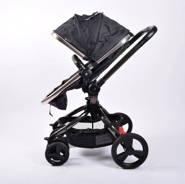 Double Pram Stokke Mothercare Orb Dark Grey Teal Canvas Grade 1 – Buggy