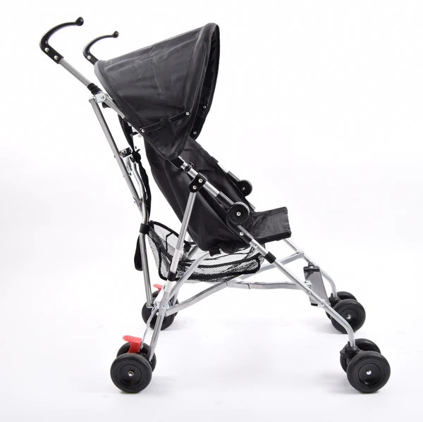 Luxury Double Pushchair Babystart Pushchair With Uv30 Black Grade 1 – Buggy Revival