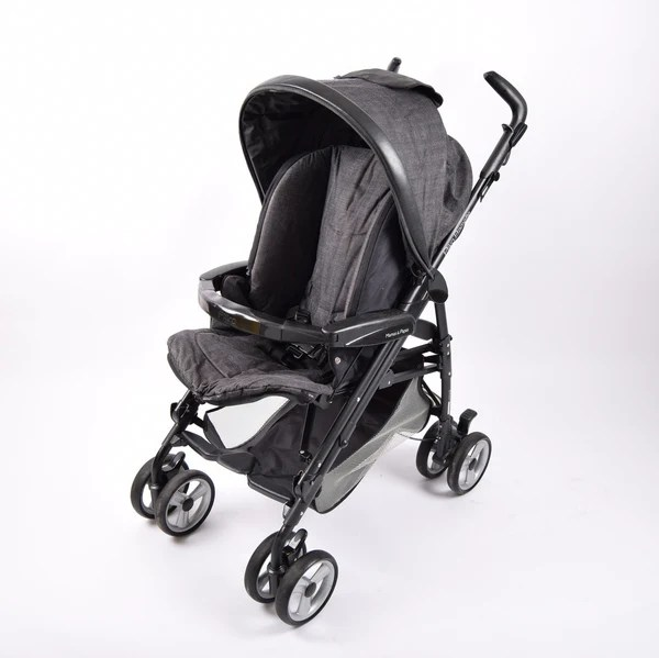 Luxury Double Pushchair Mamas And Papas Pliko Pramette City Scape Grade 2