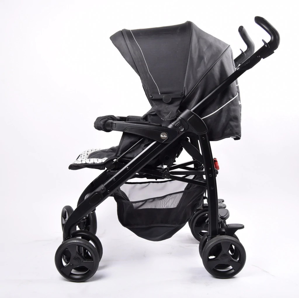 Silver Cross Pushchairs On Ebay Silver Cross 3d Classic Pram Pushchair Monochrome Grade 2