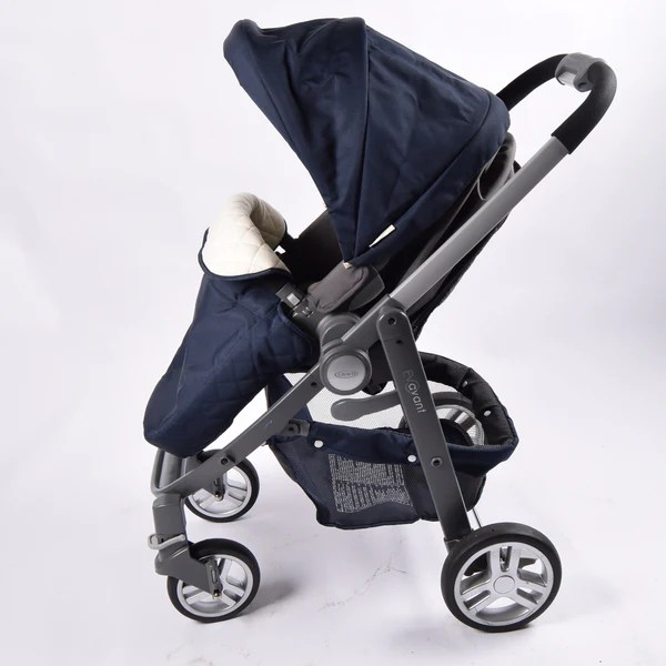 Double Buggy Out N About Graco Evo Avant Pram System Ink Navy Grade 1 – Buggy