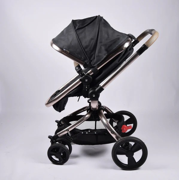 Hauck Buggy Cars Mothercare Orb Dark Grey Rose Gold Chassis Grade 2