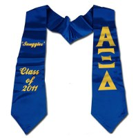 Fraternity and Sorority Graduation Stoles Customized ...