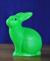 Heico Sitting Rabbit Lamp - Fluoro Green  Big Dreams
