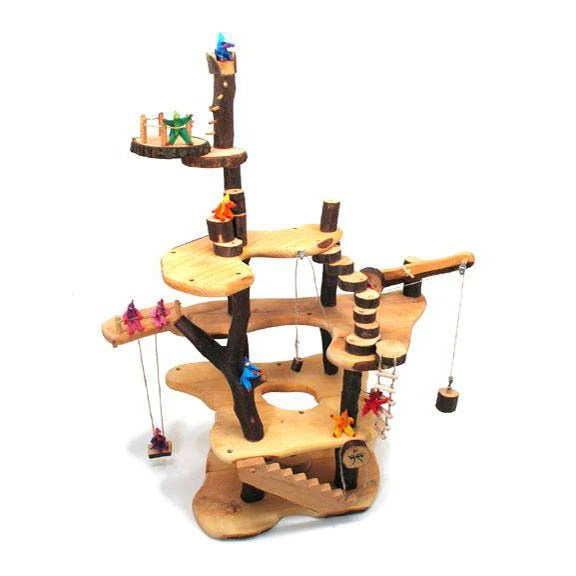 Wooden Treehouse Dragonfly Toys