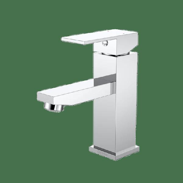 Caroma Quatro Solid Basin Mixer Chrome Flashdeals4me