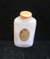 1920's Perfume Bottle Vintage Powder Richard Hudnut Powder ...