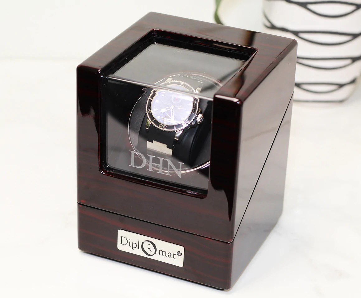 Single Watch Winder For Large Faced Watches Watch Box Co