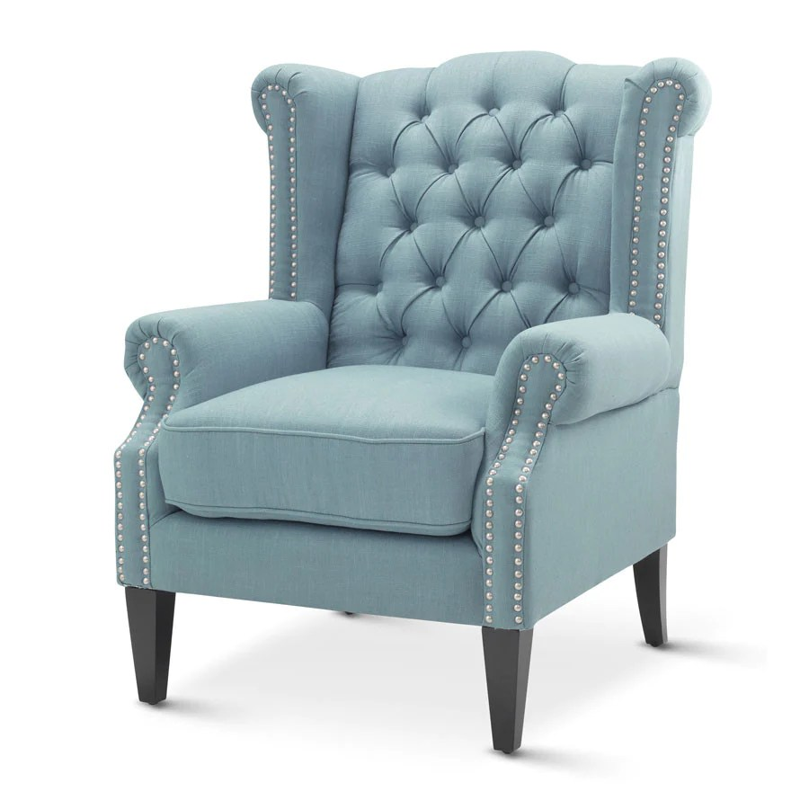 Arm Chairs Royale Wingback Arm Chair Teal