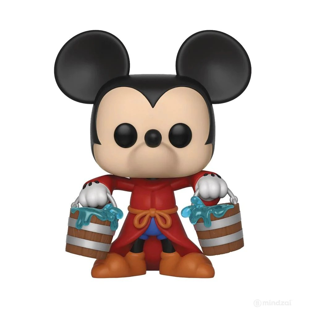 Disney Mickey Disney Mickey 90th Apprentice Mickey Pop Vinyl Toy Figure By Funko