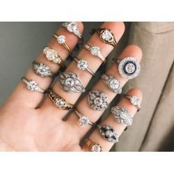 Small Crop Of 1 Karat Diamond Ring