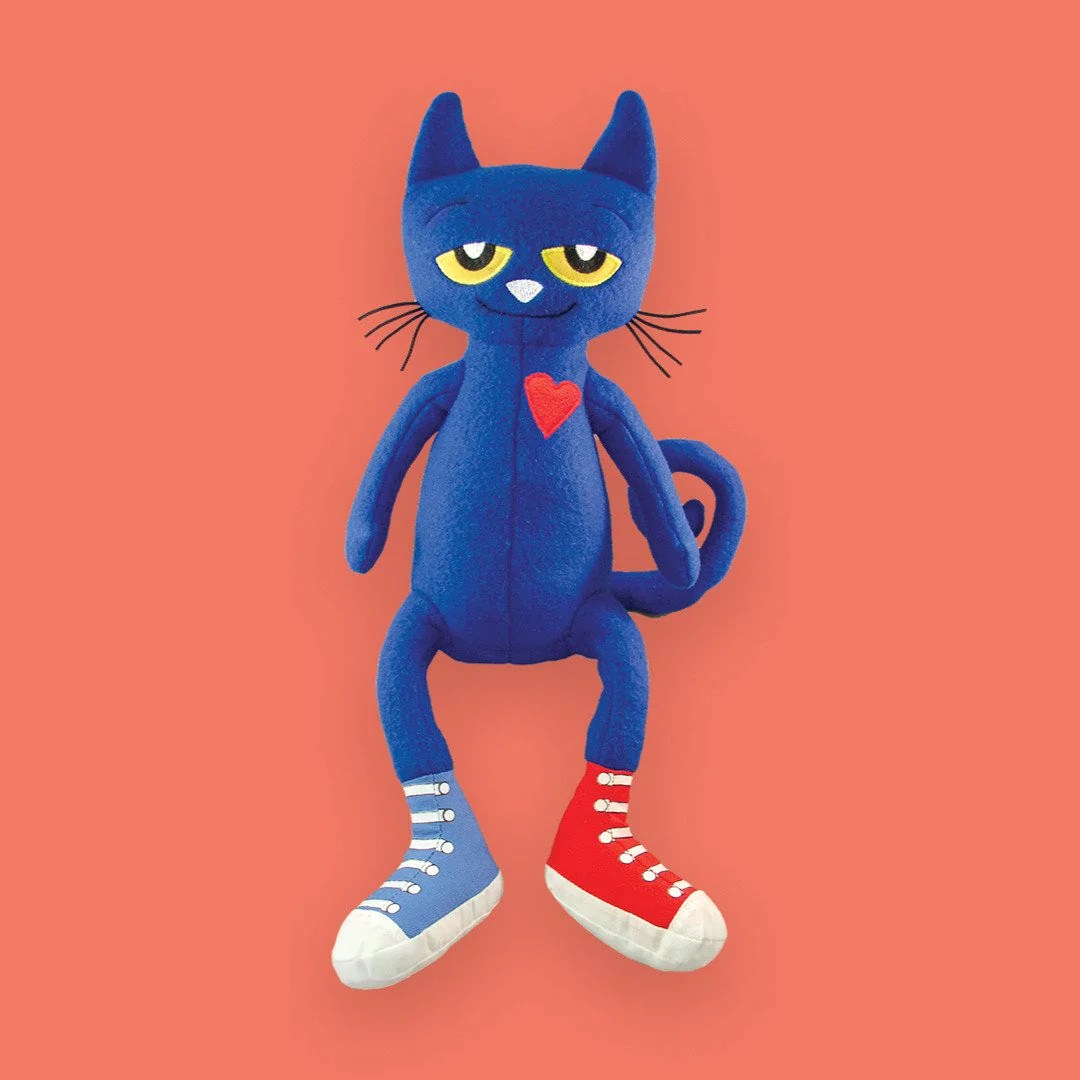 Cat 2048 Pete The Cat Doll Merrymakers Inc