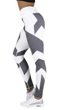 Signature Carbon Design Leggings - White - Neo Activewear