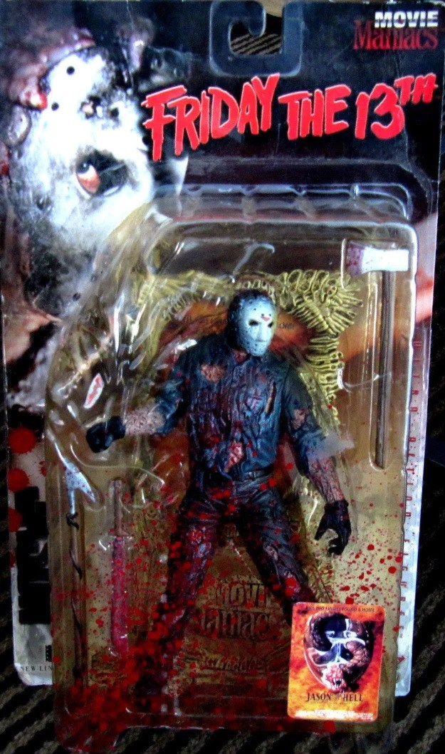 Long Shelf Movie Maniacs Series 1 Jason Goes To Hell: Jason Voorhees