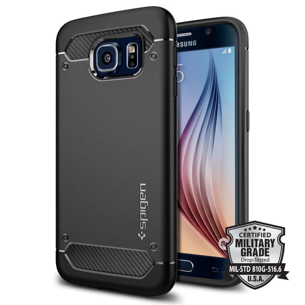 Iphone 6s Carbon Fiber Wallpaper Galaxy S6 Case Rugged Armor Spigen Inc