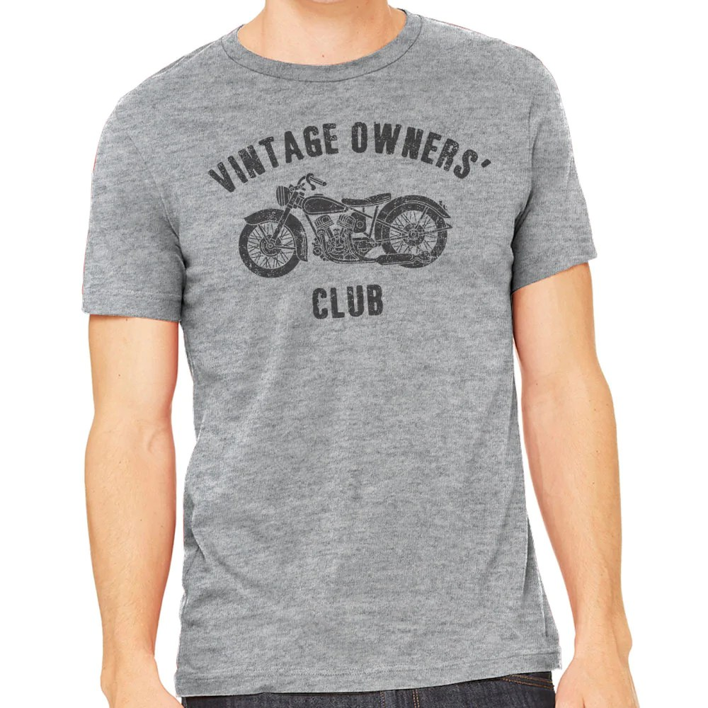Vintage Looking Fan Vintage Owner S Club Men S Motorcycle T Shirt