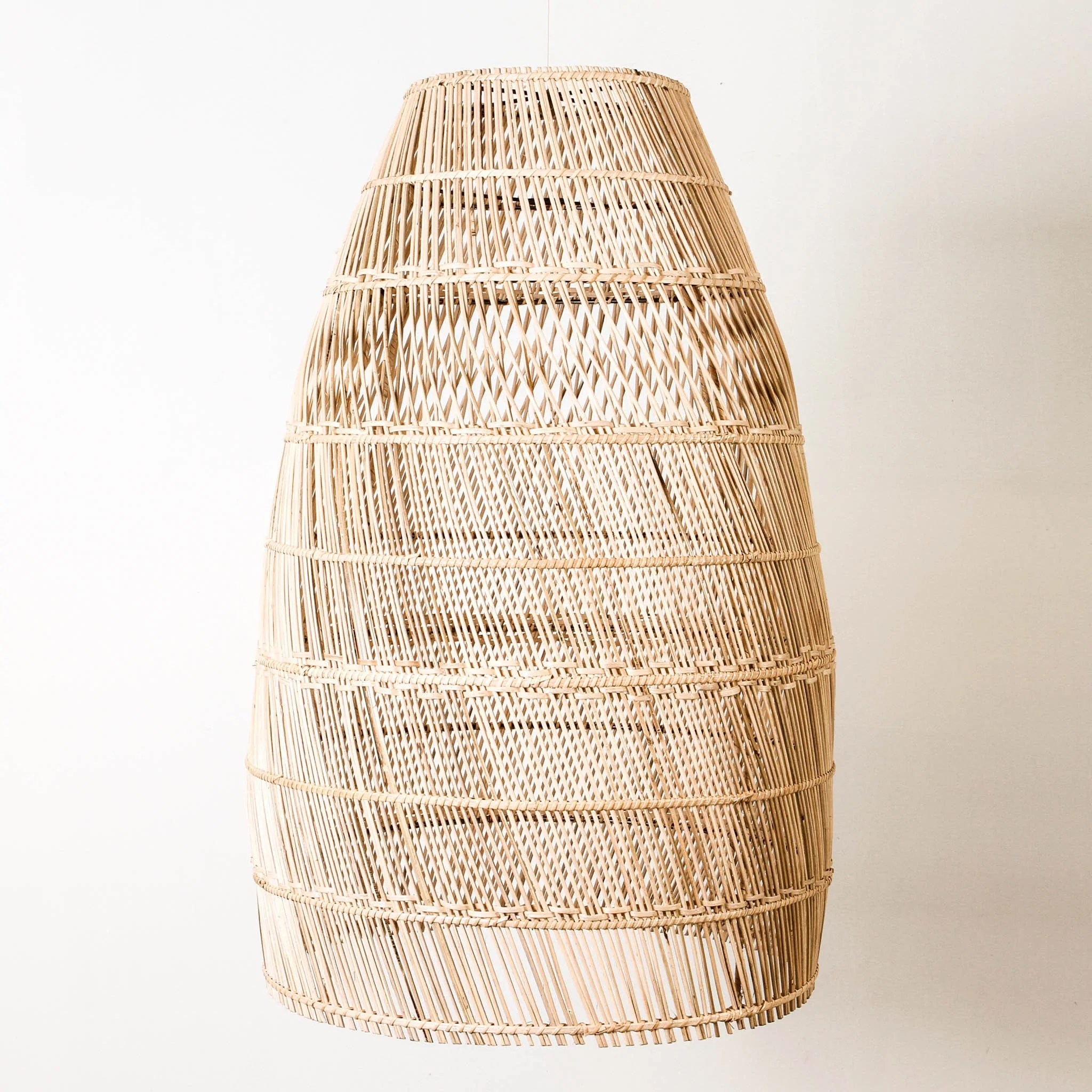 Hängelampe Rattan St Martin Rattan Light Shade Indigo Love Collectors