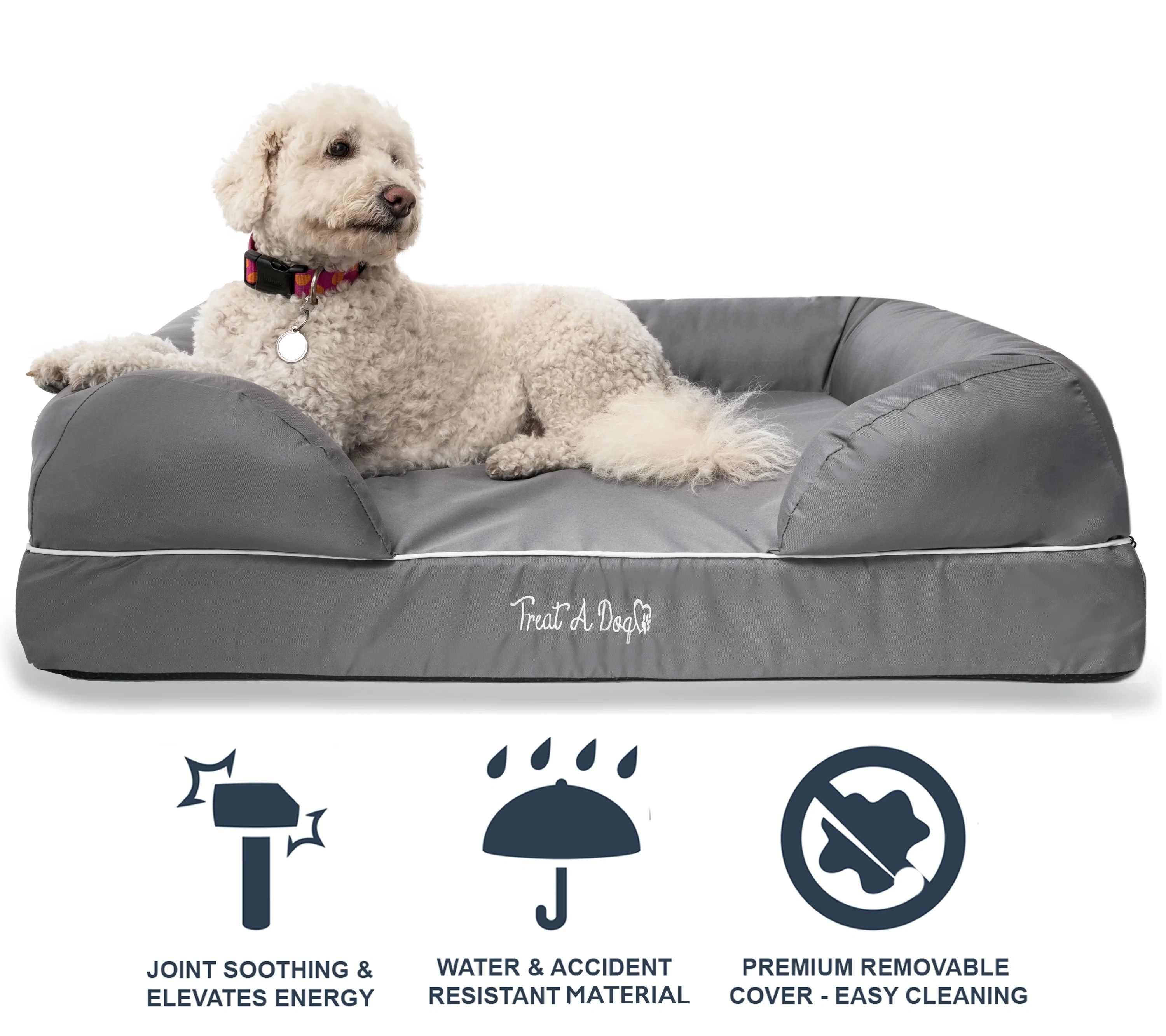 Dog Beds Pet Puplounge Memory Foam Dog Bed