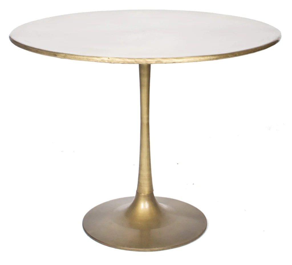 36 Tulip Table Gold Tulip Table Ooh Events Design Center