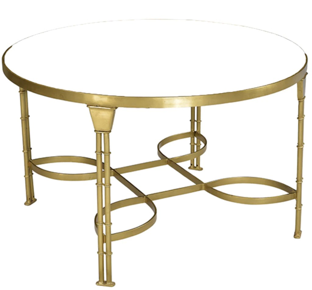 Round Glass Top Coffee Table Round Glass Top Coffee Table