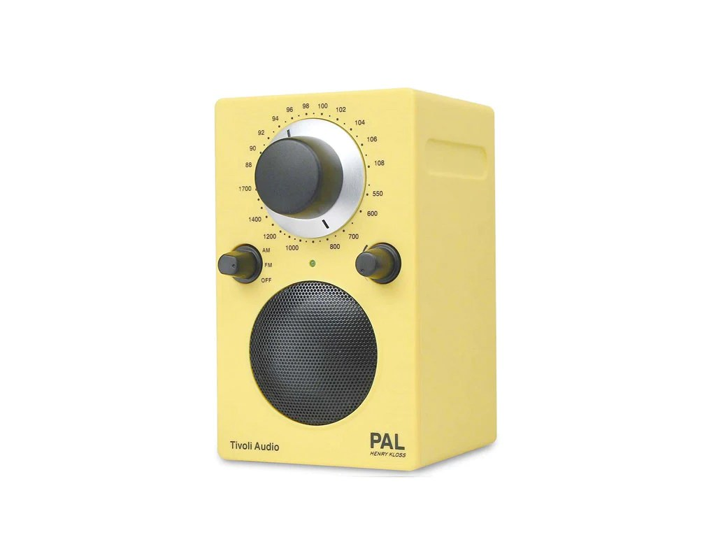 Tivoli Audio Yellow Tivoli Audio במביט