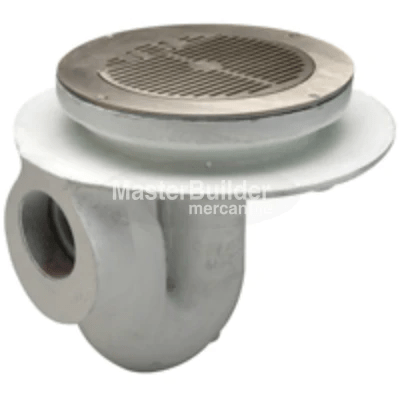 Zurn Z300 11quot Flushing Rim Thoroflush Floor Drain