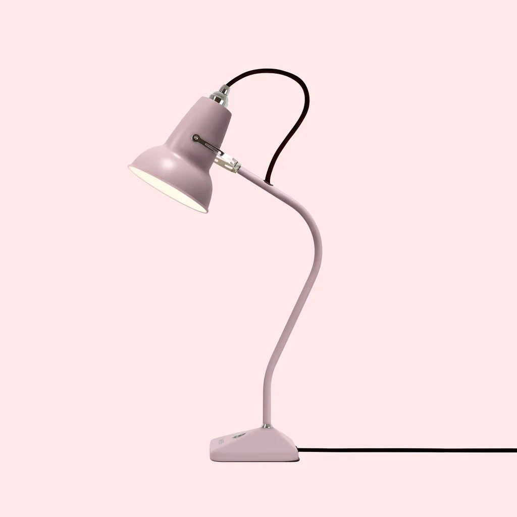 Pink Lamp Original 1227 Mini Table Lamp Dusky Pink Anglepoise